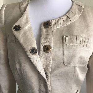 ANTONIO MELANI Jackets & Coats - Antonio Melani Linen Suit size 2/4